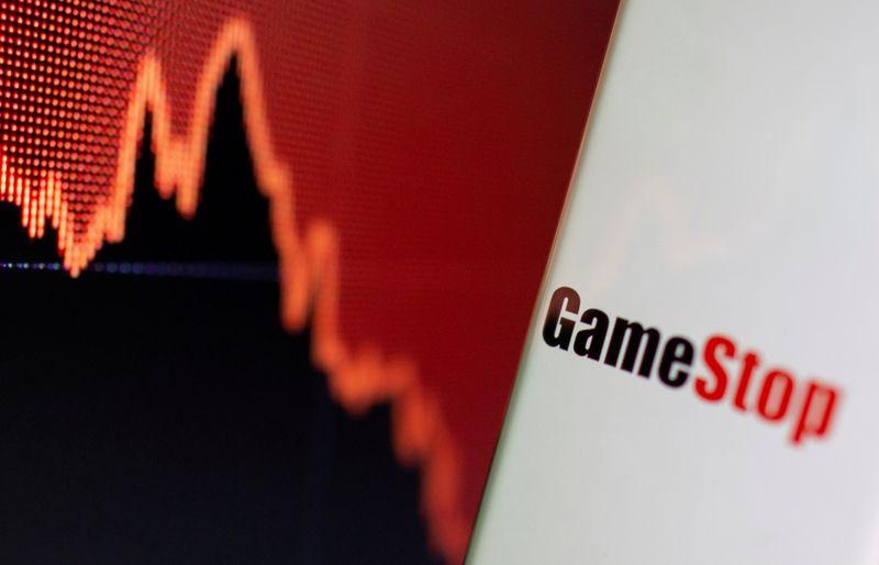 Ação da GameStop dispara 32%, lidera ganhos de ações meme