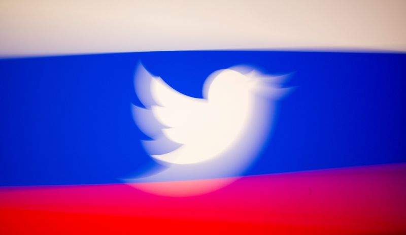 Rússia estende punição ao Twitter até meados de maio