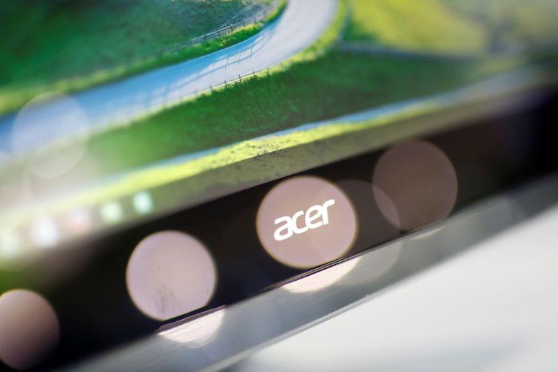 Acer vê escassez global de chips diminuir gradualmente