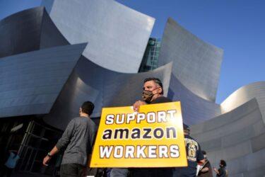 Sindicalização de funcionários da Amazon enfrenta dificuldades para ser aprovada