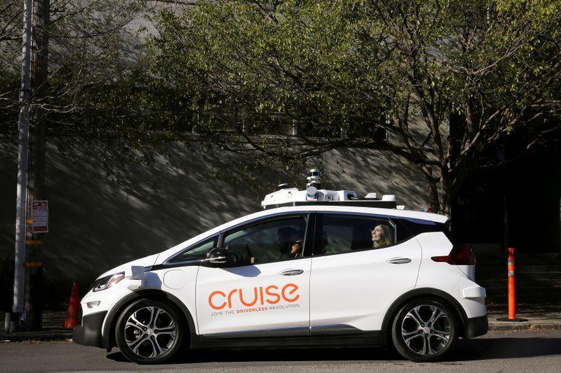 Startup de veículos autônomos Cruise levanta US,75 bi em investimento