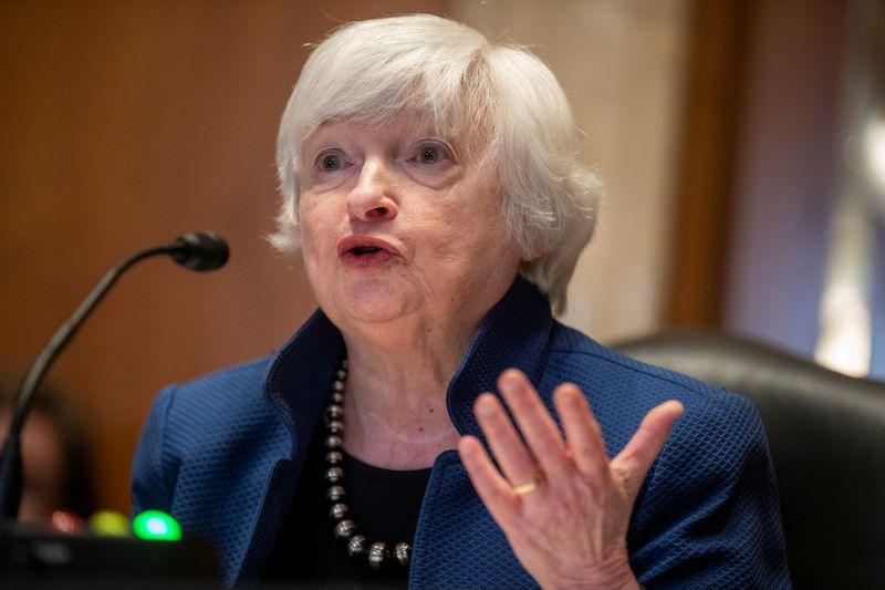 Yellen diz não ter certeza se Amazon seria sujeita a imposto global