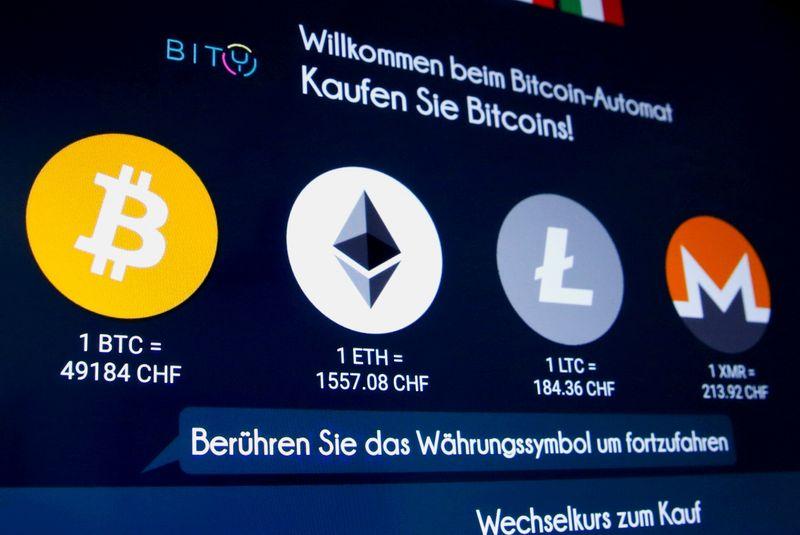Criptomoedas se recuperam de tombo no domingo, bitcoin sobe 9%
