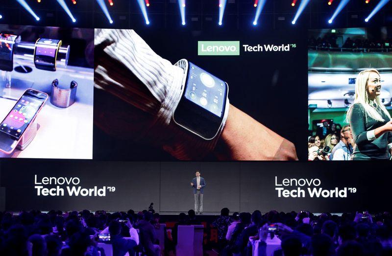 Lucro trimestral da Lenovo salta 512%