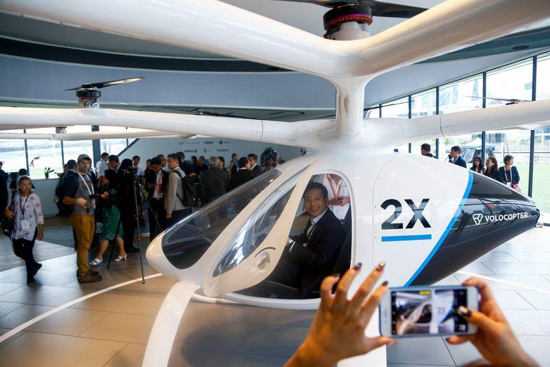 Startup de táxi aéreo urbano, Volocopter ganha certificado de produção