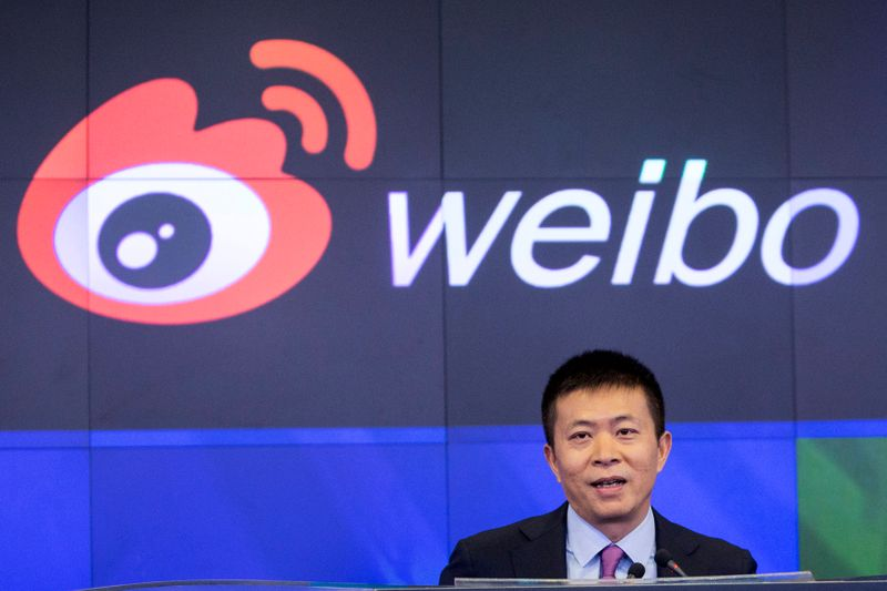 Presidente da Weibo e empresa estatal planejam fechar capital rede social, dizem fontes