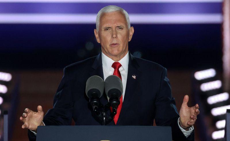 """Vice-presidente dos EUA alerta contra vitória de Biden em discurso sobre """"lei e ordem"""""""