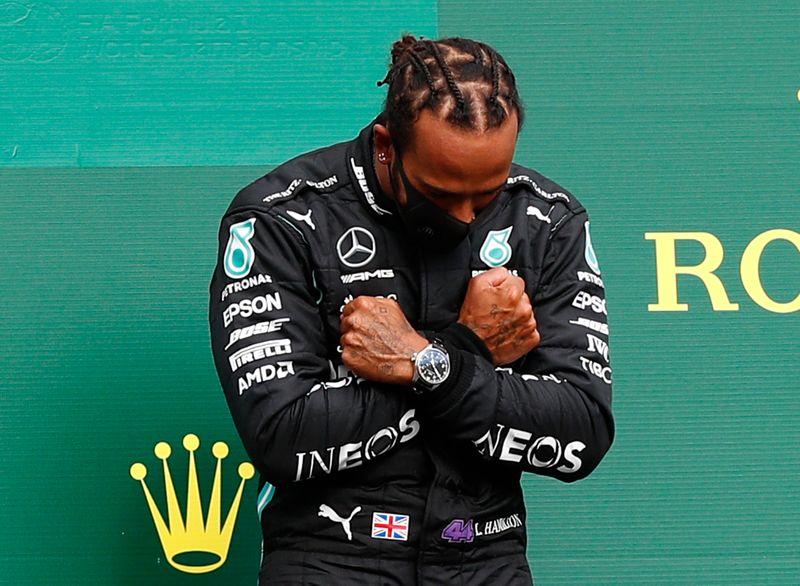 Hamilton conquista vitória dominante no GP da Bélgica