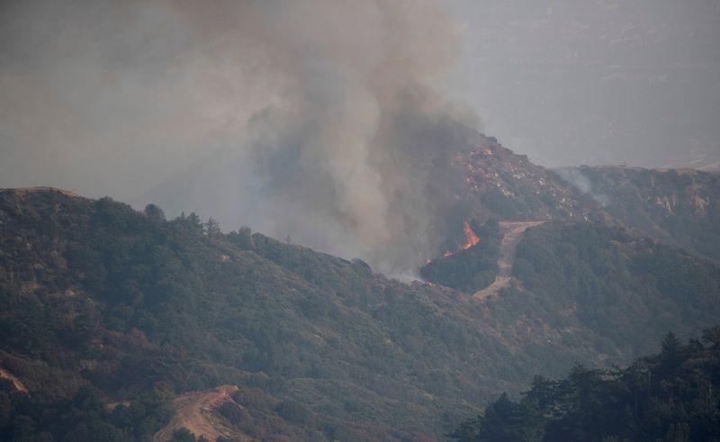 Fumaça de incêndios florestais no oeste dos EUA chega à Europa