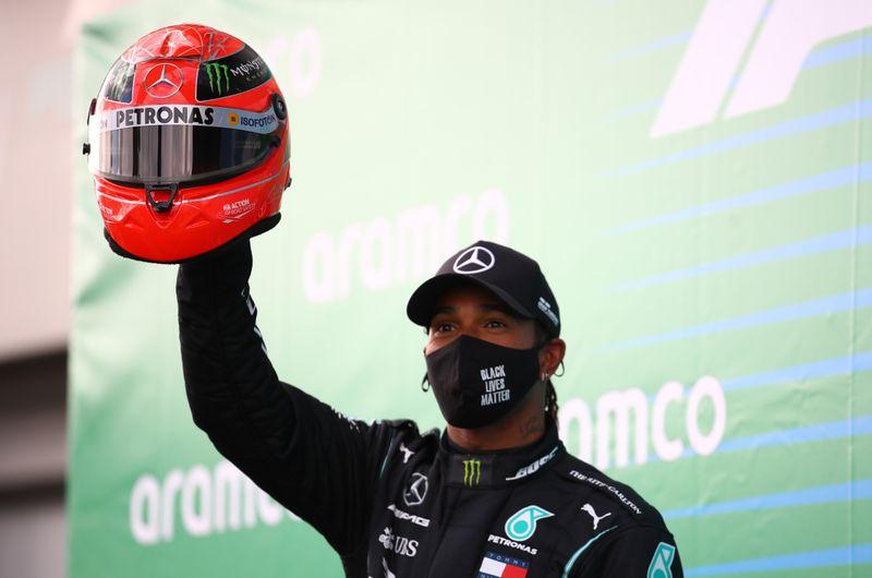 Hamilton conquista 91ª vitória na carreira e iguala recorde de Schumacher