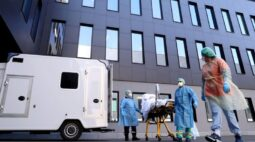 Disparada de casos novos de coronavírus pressiona hospitais europeus