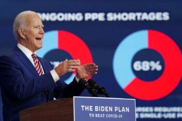 Biden alerta sobre alta do coronavírus; Trump diz que pandemia vai acabar logo