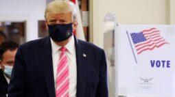Trump vota na Flórida antes de comícios em 3 Estados, Biden vai à Pensilvânia