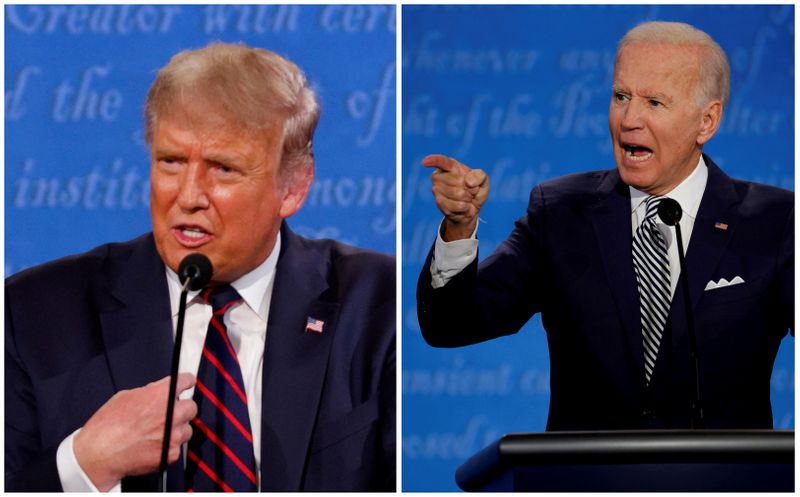 Trump e Biden iniciam semana final de campanha com Covid-19 em ascensão nos EUA