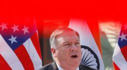 Pompeo diz que Índia e EUA cooperam contra todas ameaças, incluindo China