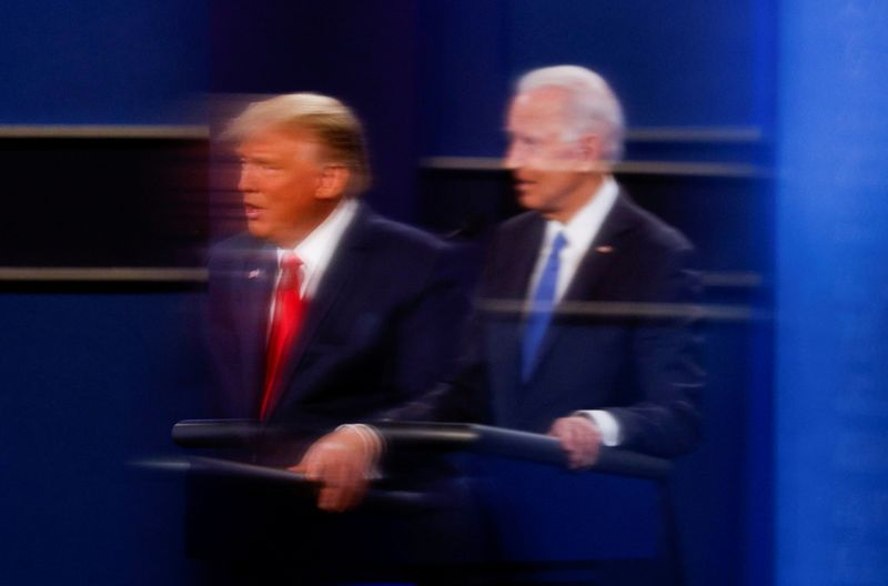 Em arrancada final, Biden vai à Geórgia e Trump faz campanha em três Estados
