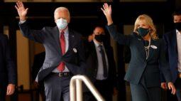 Biden e esposa votam antecipadamente nos EUA