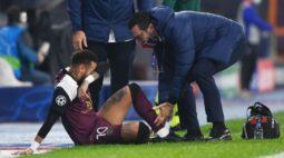 Neymar ficará sem jogar pelo menos até meados de novembro, diz técnico do PSG