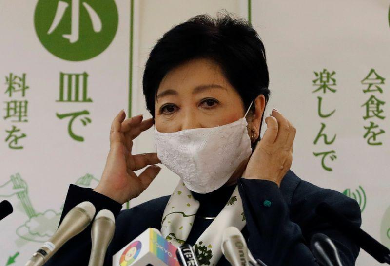 Tóquio pede redução do horário de bares e restaurantes em batalha contra coronavírus
