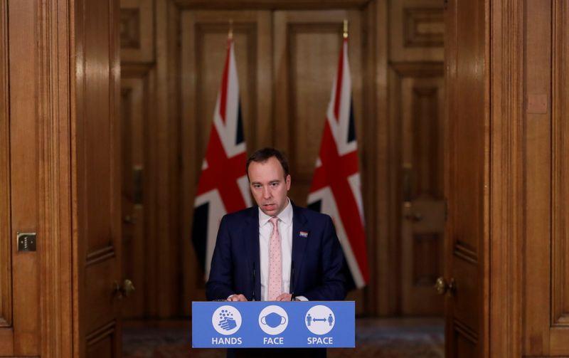 Reino Unido amplia lockdown diante de novos casos por variante do coronavírus