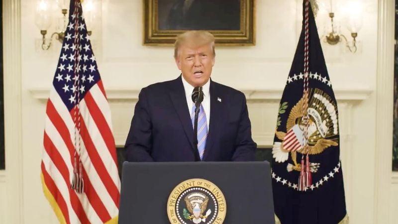 Trump aprova declaração de emergência em Washington para posse de Biden