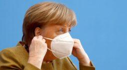 Prorrogação de lockdown visa deter mutação da Covid, diz Merkel