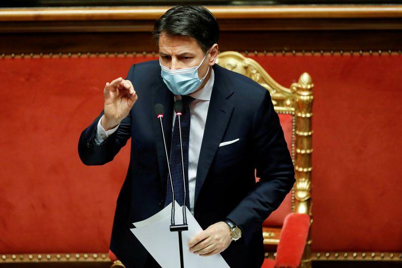 Conte usa renúncia como premiê da Itália como tática para obter nova maioria