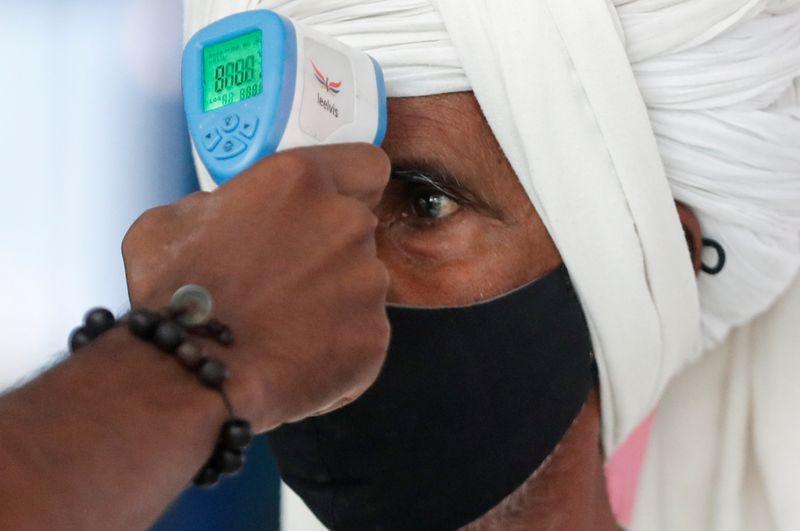 Índia tem maior aumento diário de infecções de coronavírus em 5 meses