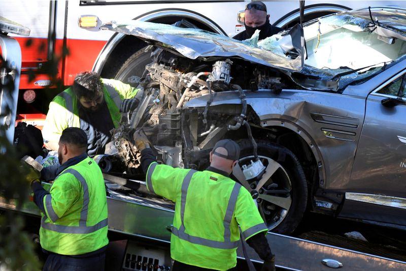Velocidade excessiva foi causa principal do acidente de Tiger Woods, diz polícia