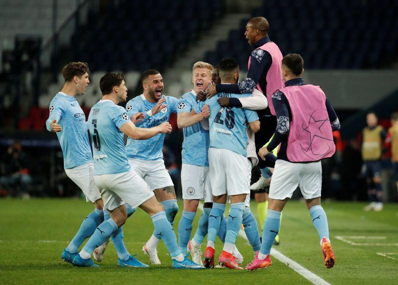 Manchester City vence PSG de virada e abre vantagem na Champions