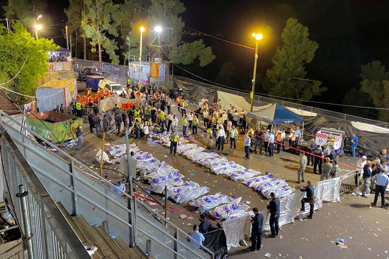 Tumulto em festival religioso de Israel deixa 45 mortos