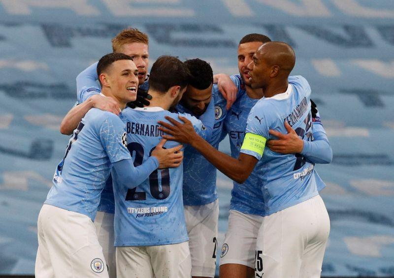 Manchester City vence PSG com gols de Mahrez e vai à decisão da Champions