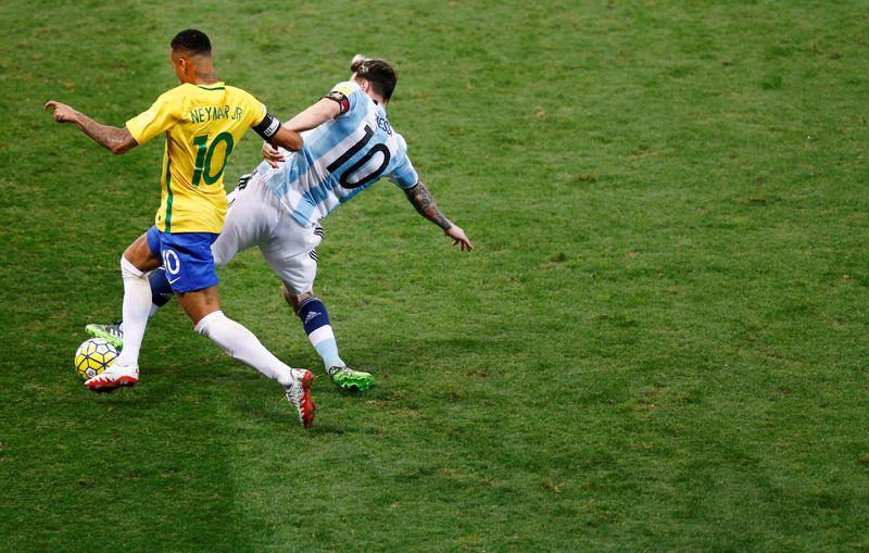 Conmebol escolhe Neymar e Messi como melhores da Copa América antes de final
