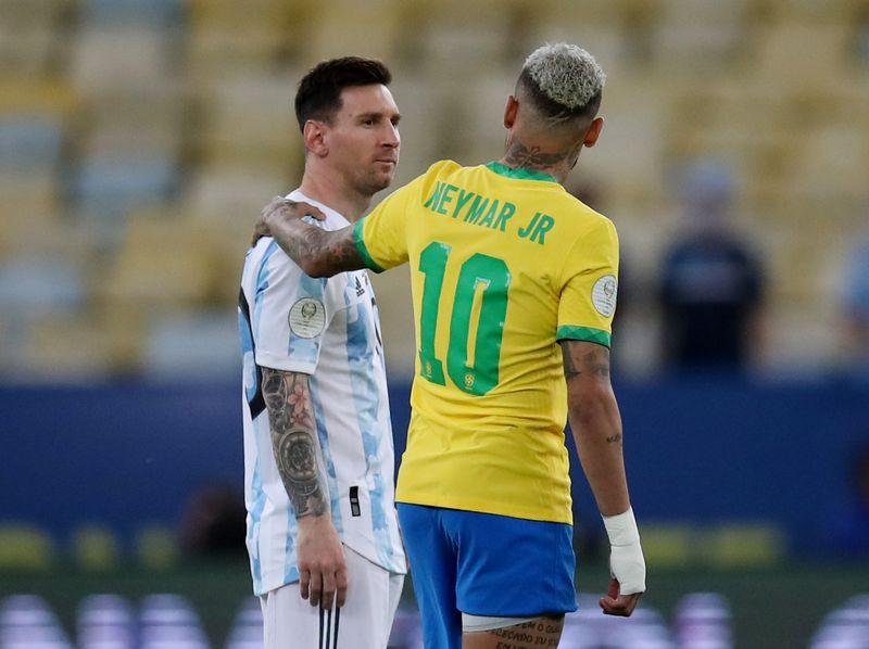 """""""O futebol te esperava por esse momento"""", diz Neymar ao """"hermano"""" Messi"""