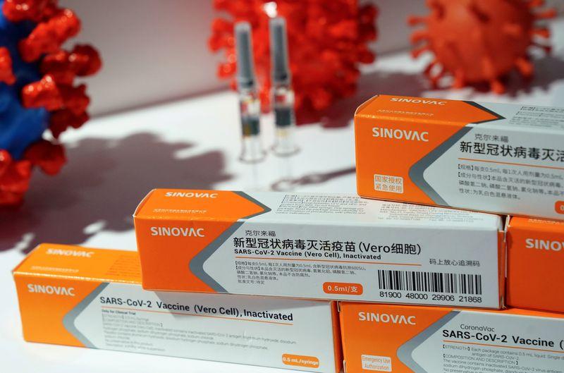 Covax distribuirá doses da CoronaVac e de vacina da Sinopharm contra Covid-19