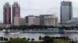 Autoridades do Japão confiam que conseguirão manter nadadores longe do esgoto