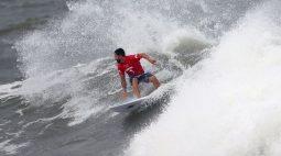 Aproximação de tempestade antecipa decisão de medalhas do surfe em Tóquio