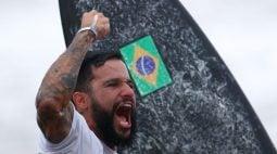 Surfista Ítalo Ferreira conquista primeiro ouro do Brasil nos Jogos de Tóquio