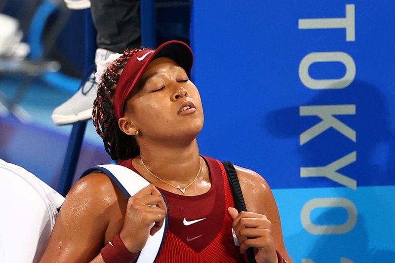 Naomi Osaka é eliminada do torneio de tênis da Tóquio 2020