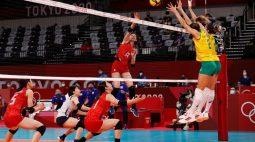 Brasil vence Japão em 3 sets e conquista terceira vitória no vôlei feminino em Tóquio