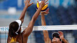 Ana Patrícia e Rebecca avançam e Brasil tem quatro duplas nas oitavas do vôlei de praia em Tóquio