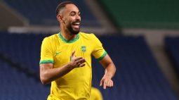 Brasil bate Egito e enfrentará México na semifinal do futebol masculino