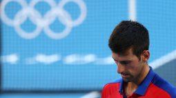 Djokovic perde disputa do bronze e deixa Jogos de Tóquio sem medalha