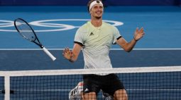 Zverev vence Khachanov e é o campeão olímpico no tênis