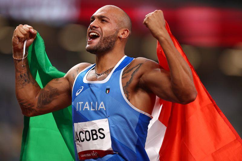 Italiano Marcell Jacobs surpreende e conquista ouro nos 100m rasos