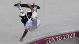 Pedro Barros conquista prata no skate e Brasil iguala 19 medalhas da Rio 2016