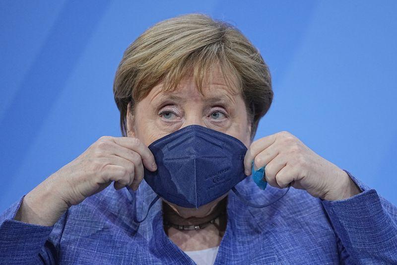 Merkel comemora avanço contra Covid-19, mas variante Delta preocupa