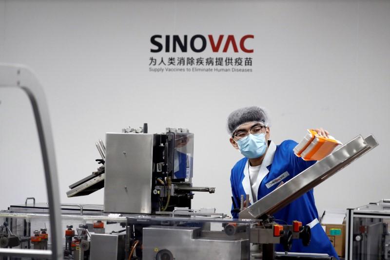 China quer aprofundar cooperação com Brasil sobre vacinas contra Covid, diz chancelaria