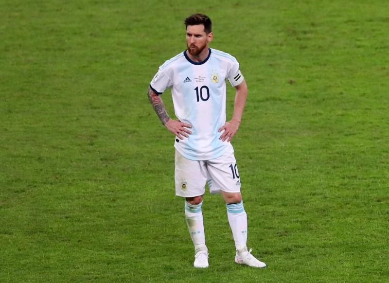 Messi confessa receio de contrair Covid-19 durante a Copa América