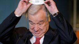 Chefe da ONU Guterres é nomeado para segundo mandato